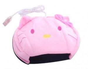 Hello kitty暖手滑鼠墊/USB滑鼠墊