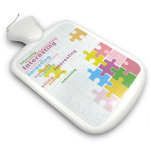 USB暖水袋滑鼠墊