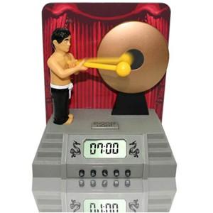 gong clock alarm 敲鑼鬧鐘