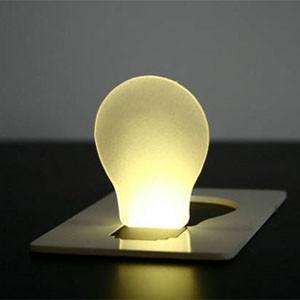 創意LED卡片燈
