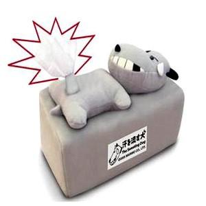 日本MARIMO-流汗狗方形面紙盒
