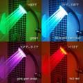 溫控變色LED淋浴花灑