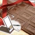 巧克力攜帶式化妝鏡