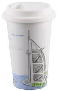 BELLA HOUSE 環保雙層陶瓷隔熱杯 - 杜拜帆船酒店