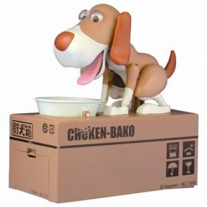 儲犬箱 / 貯犬箱 瘋狂啃飯狗 啃錢狗 吃錢狗 存錢筒